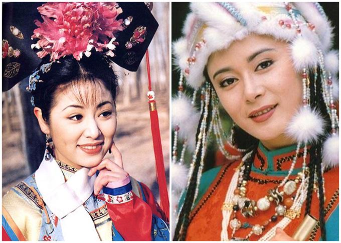 Trương Hẳng (phải) thay Lâm Tâm Như đóng vai công chúa Trại Á.