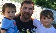 Messi đăng video ba con trai nhảy nhót trong phòng