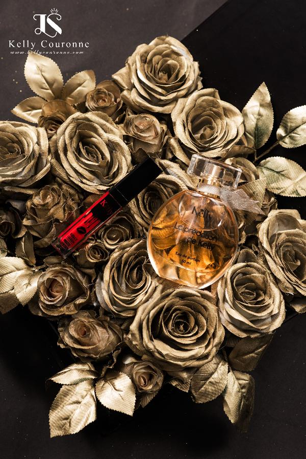 Các nàng có thể tìm thấy bộ sản phẩm son vànước hoa của Kelly Couronne tại showroom 505 Minh Khai, Hà Nội.