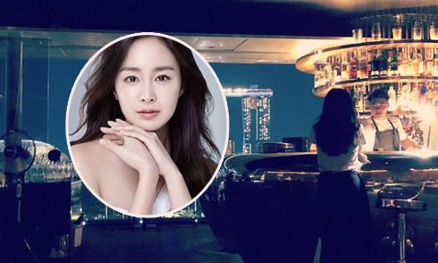 Kim Tae Hee sang Singapore hội ngộ ông xã Rain