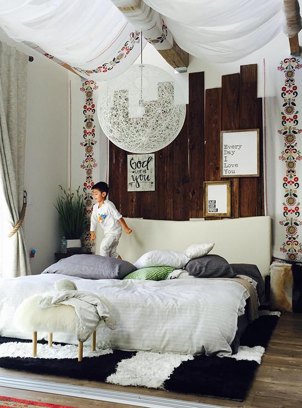Phòng ngủ thứ tư với concept hoàn toàn khác biệt, hướng tới không gian tự do, phóng khoáng.