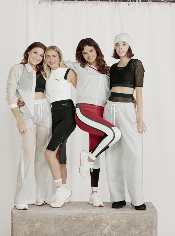 Selena cho biết, bộ sưu tập mới của cô cũng được lấy cảm hứng từ phong cách ăn mặc của những người bạn thân và cô đã mời họ tham gia chiến dịch quảng bá cùng mình. Tôi không có người bạn nào cùng size và style với mình. Nhờ vậy, tôi hiểu cơ thể phụ nữ nhiều hơn từ bạn bè qua cách họ ăn mặc và những gì phù hợp với họ, cựu sao Disney tâm sự.