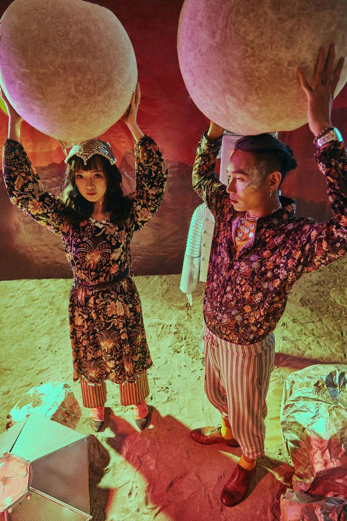 Ảnh cưới phong cách viễn tưởng của uyên ương Hà Nội