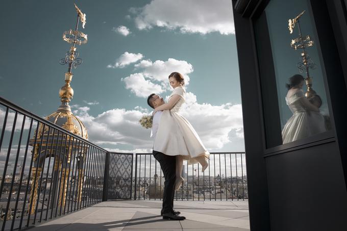Paris tráng lệ trong ảnh cưới của uyên ương Sài Gòn