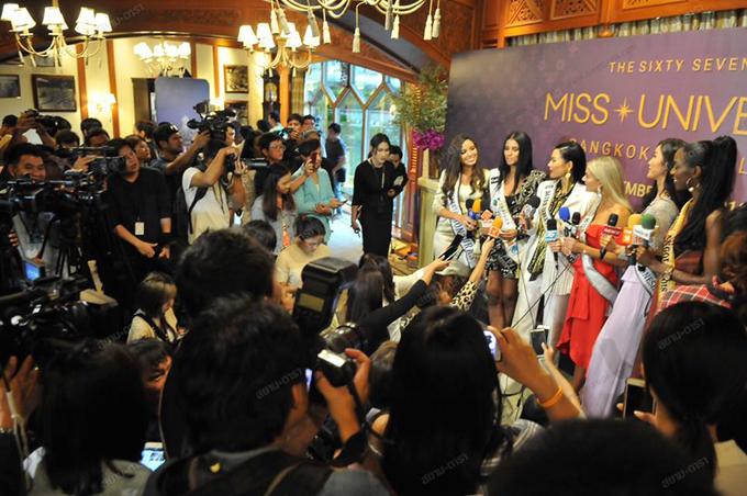 Cuộc thi Miss Universe 2018 sẽ kéo dài trong vòng 3 tuần, từ ngày 29/11 tới 17/12.