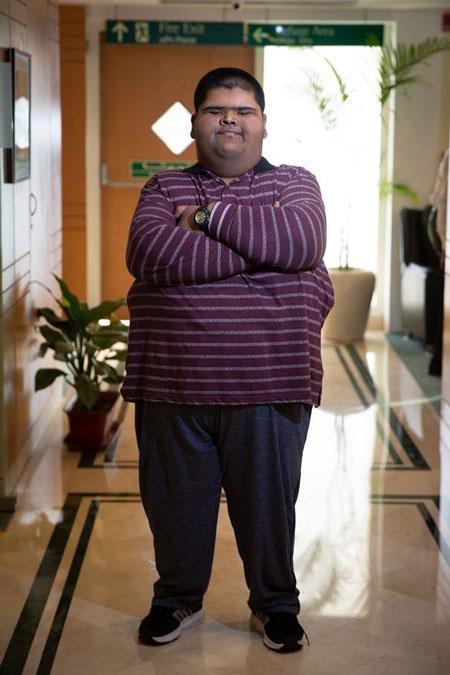 Thân hình hiện tại của Mihir đãgọn gàng hơn rất nhiều. Ảnh: Cover Asia Press.