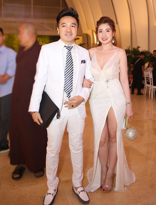 Vợ chồng ca sĩ Dương Ngọc Thái.