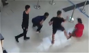 An ninh sân bay Thọ Xuân bị phạt vì để côn đồ đánh nhân viên