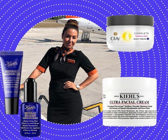 Loạt kem dưỡng ẩm được lòng các tiếp viên hàng không