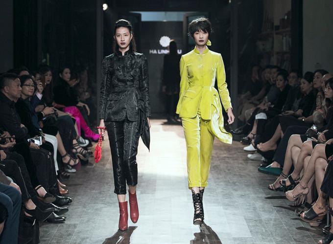 Cuối tuần qua, show thời trang November Rain (Mưa tháng 11) của NTK Hà Linh Thư diễn ra tại Hà Nội.