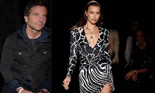 Bạn trai tới xem Irina Shayk trình diễn thời trang