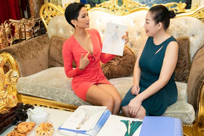 Áo dài của HHen Niê được tạp chí Thái Lan chú ý - 5