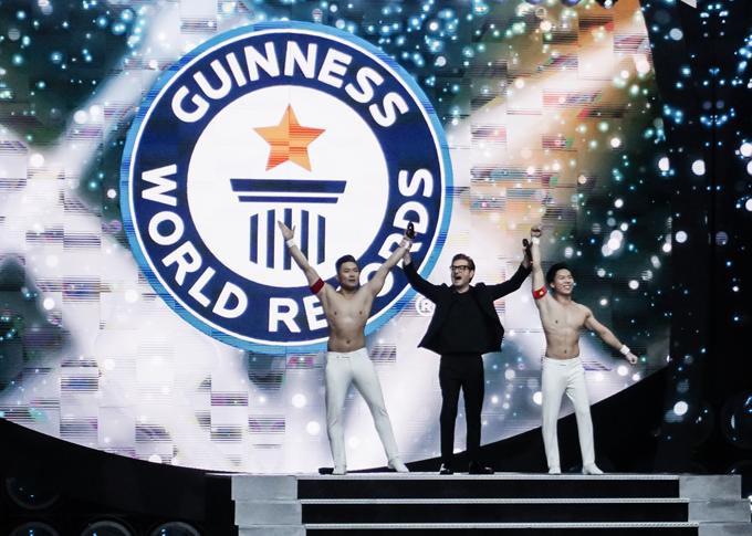 Ban tổ chức Kỷ lục Guinness Thế giới cho biết tiết mục của Quốc Cơ - Quốc Nghiệp là một trong những màn diễn gây ấn tượng mạn nhất trong số gần 30 tiết mục tham gia xác lập Kỷ lục Guinness lần này ở Italy.