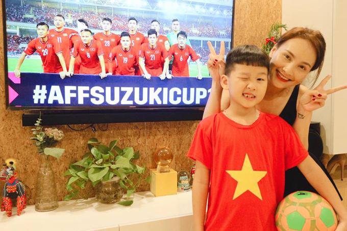 Sao Việt chúc mừng tuyển Việt Nam vào chung kết - ảnh 2