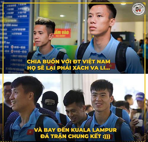 Sau tất cả, đội tuyển Việt Nam đã vào chung kết.