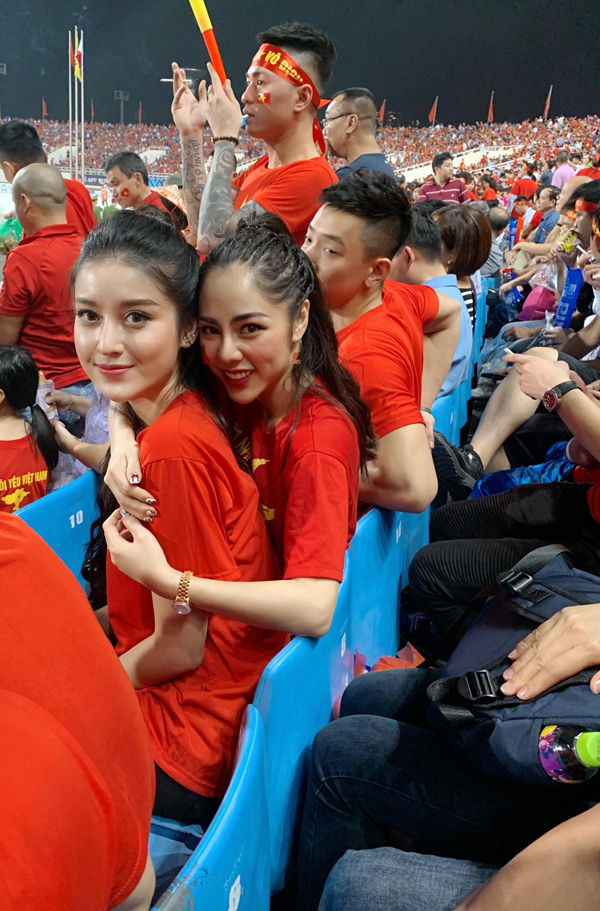 Sao Việt chúc mừng tuyển Việt Nam vào chung kết - ảnh 1