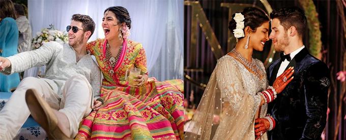 Những khoảnh khắc của hoa hậu và chú rể trong lễ cưới kéo dài 7 ngày.