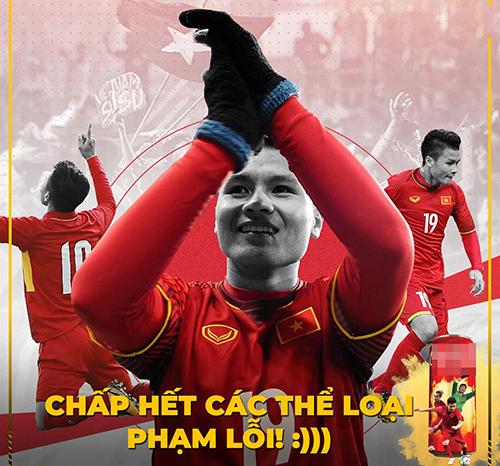 Quang Hải là cầu thủ bị đội bạn chèn ép, phạm lỗi nhiều nhất trận nhưng không gì có thể cản nổi anh ghi bàn.