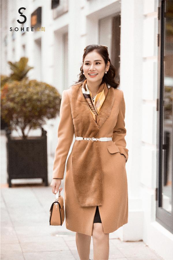 CEO Sohee thực hiện bộ ảnh thời trang phong cách quý cô Paris kiêu kỳ