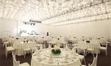 Không gian cưới đơn giản, tinh tế của White Palace