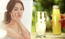 Song Hye Kyo giảm cân nhờ uống 3 lít nước chanh pha loãng mỗi ngày