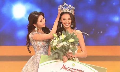 Người đẹp Puerto Rico giành vương miện Hoa hậu Siêu quốc gia