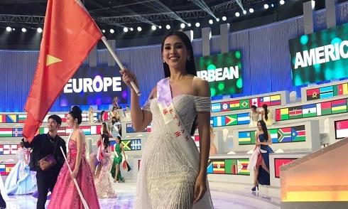 Tiểu Vy tiếc khi không đạt mục tiêu top 12 Miss World