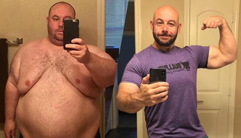 Bị vợ bỏ do 'quá béo để làm chuyện ấy', chồng quyết tâm giảm 102 kg