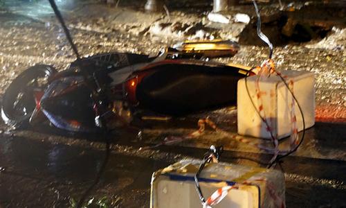 Hai người ở Đà Nẵng bị điện giật sau mưa lớn