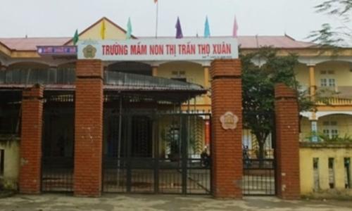 Bé 3 tuổi tử vong sau ngủ trưa tại trường ở Thanh Hóa