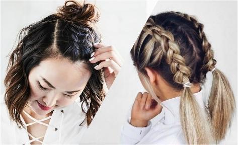 10 cách tạo kiểu nhanh – gọn – đẹp cho nàng tóc ngắn