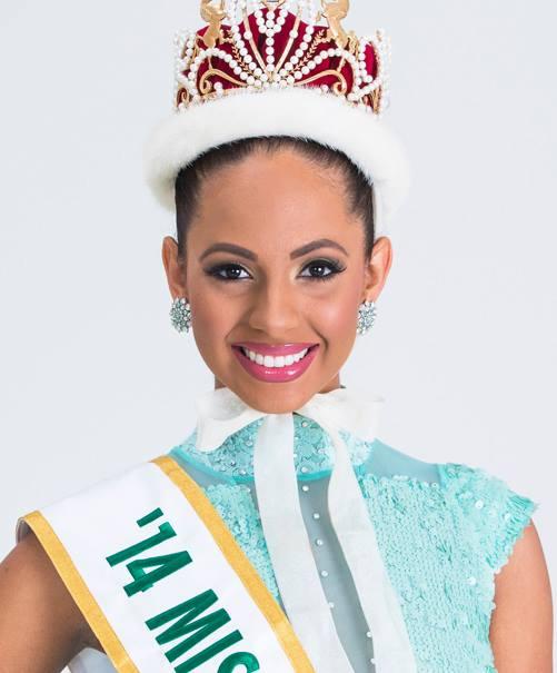 Ở đấu trường sắc đẹp Miss International (Hoa hậu Quốc tế), nhan sắc Puerto Rico đã lên ngôi hai lần vào năm 1987 và 2014 (ảnh). Người đẹp Valerie Hernandez đã hạnh phúc vỡ òa khi đăng quang vào năm 2014 vượt qua nhiều đối thủ mạnh như Colombia, Thái Lan, Mỹ...