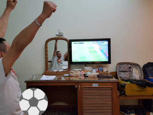 MC Lại Văn Sâm tin Việt Nam sẽ vô địch tại sân vận động Mỹ Đình.