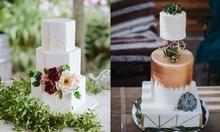 6 mẫu bánh cưới độc đáo cho năm 2019