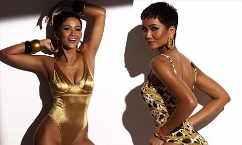 H'Hen Niê khoe vóc dáng với bikini trước bán kết Miss Universe