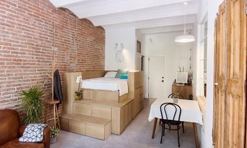 Không gian sống tiện nghi trong ngôi nhà 25 m2
