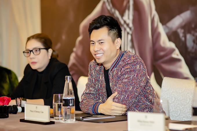 Nhạc sĩ Dương Cầm đảm nhận vai trò giám đốc âm nhạc của chương trình. Anh khẳng định luôn mang những điều mới lạ, trẻ trung đến với các sản phẩm của nhạc sĩ An Thuyên. Là người thân thiết với cố nhạc sĩ trong những năm tháng cuối đời, Dương Cầm biết rằng ông rất thích điều đó.
