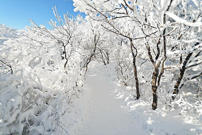 Ngoài khu resort trượt tuyết Muju, núi Deogyusan còn có nhiều đền thờ, di  tích văn hóa lịch sử để khám phá.