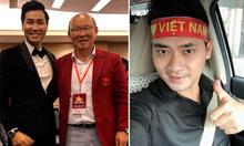 Dàn sao Việt hát cổ vũ tuyển quốc gia trước chung kết AFF Cup