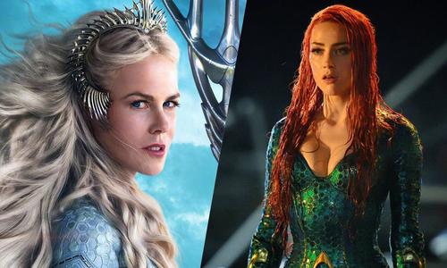 """Amber Heard, Nicole Kidman đẹp """"không góc chết"""" trong """"Aquaman"""""""