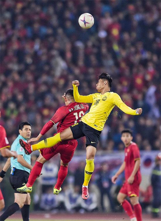 Tinh thần, sự nỗ lực của cầu thủ Việt Nam được ghi nhận trong suốt giải đấu.