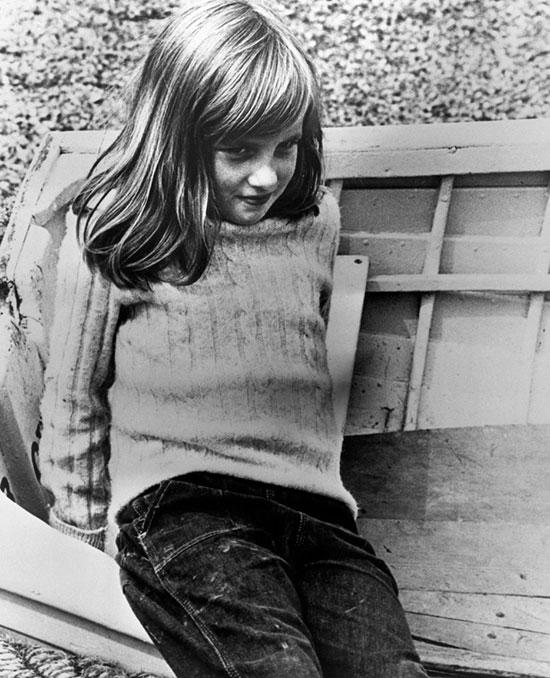 Diana năm 1970. Ảnh: UK Press.