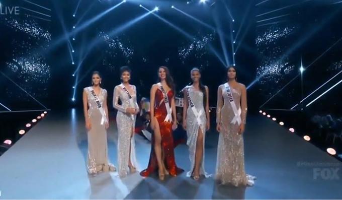 HHen vào Top 5 Miss Universe.