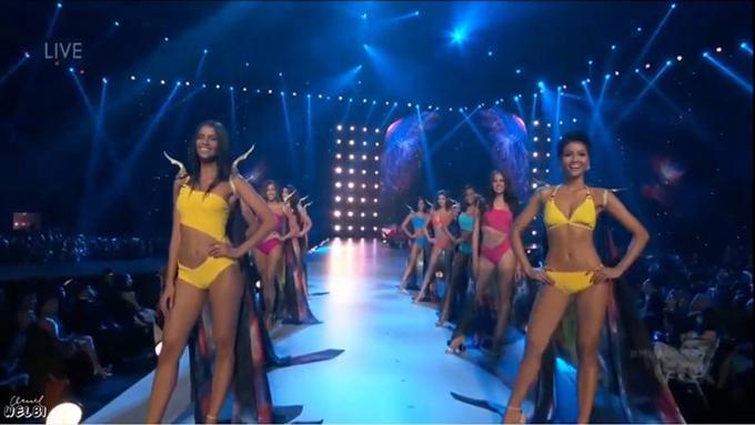 Chung kết Hoa hậu Hoàn vũ 2018: HHen Niê vào Top 10 - 2