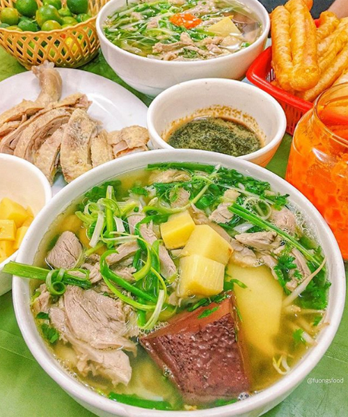 Địa chỉ cuối tuần: 10 địa chỉ ăn ngan ngon ở Hà Nội - ảnh 1