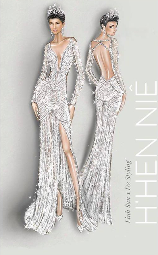 Những bộ cánh giúp HHen Niê tỏa sáng tại Miss Universe 2018 - 14