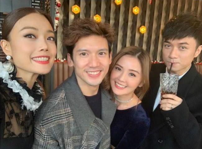 Đám cưới không thể thiếu sự hiện diện của Thái Trác Nghiên, bạn thân Hân Đồng trong nhóm Twins.