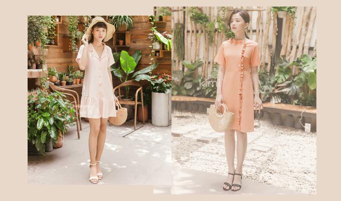 Đầm thương hiệu Kimi: sản phẩm giảm giá còn từ 250.000 đồng. Mỗi trang phục Kimi có mẫu mã đa dạng, trẻ trung tôn lên nét duyên và sự tự tin của mỗi cô gái Việt.