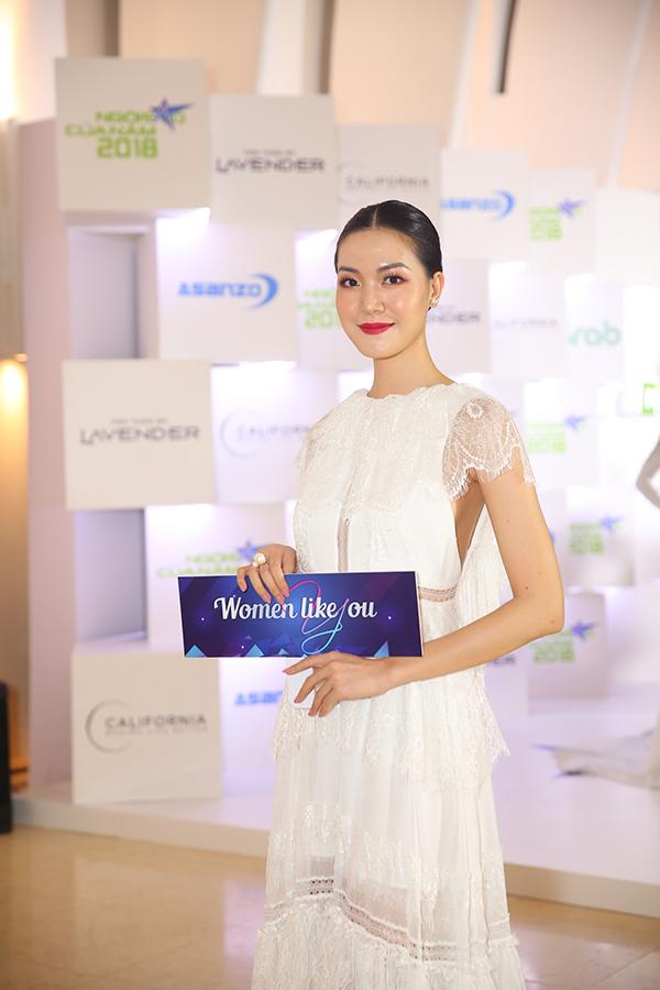Hoa hậu Việt Nam 2008 Thùy Dung hiếm hoi đi sự kiện.