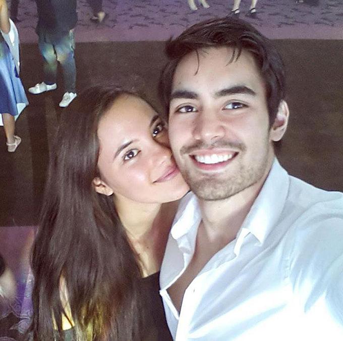 Catriona và Clint được coi là một trong những cặp đôi đẹp nhất làng giải trí Philippines.